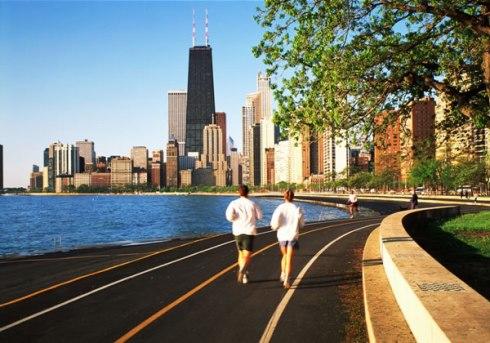 running-chicago